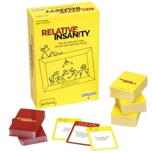 Relative Insanity family game night game